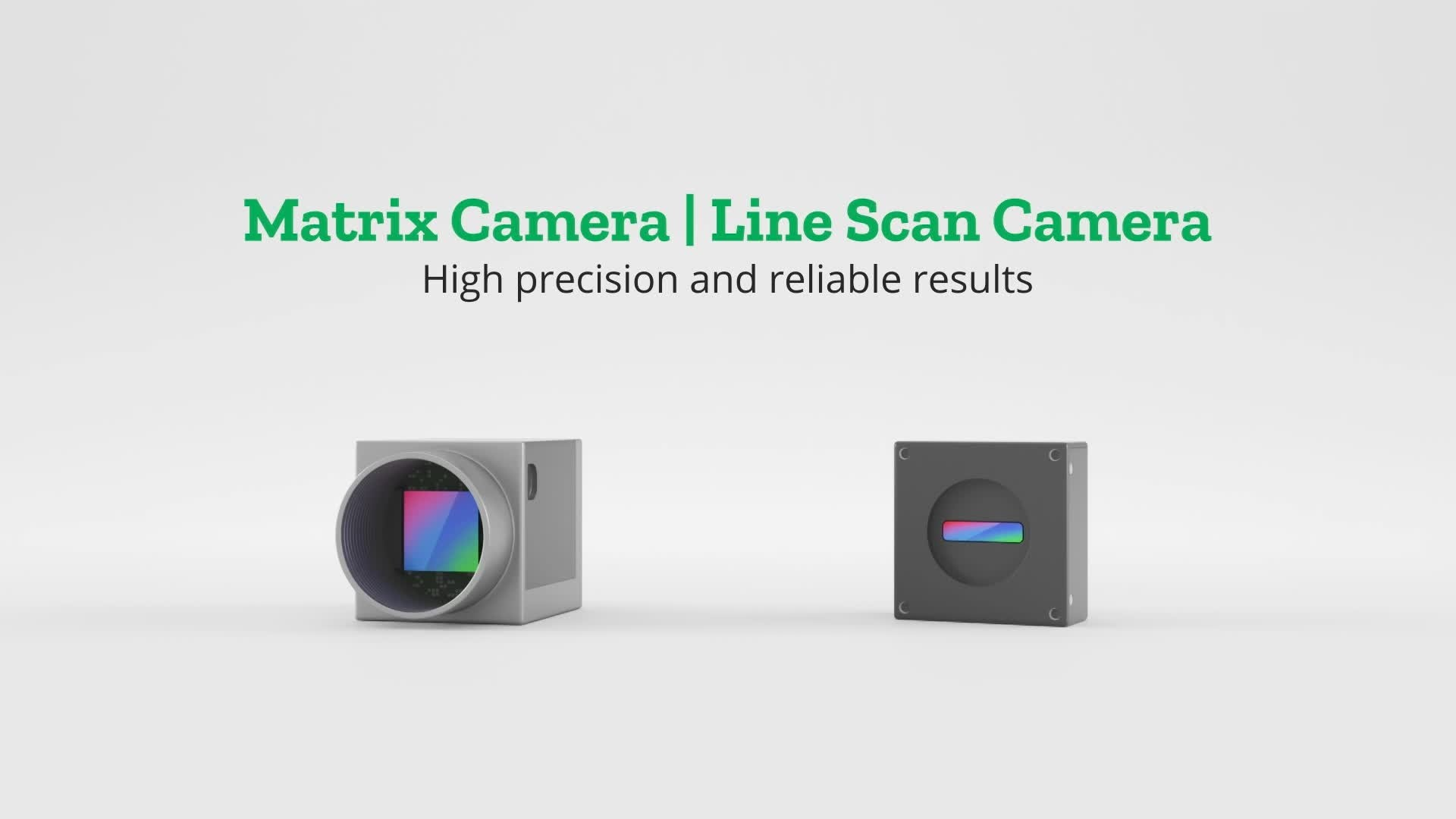 Camera inspection line scan camera
