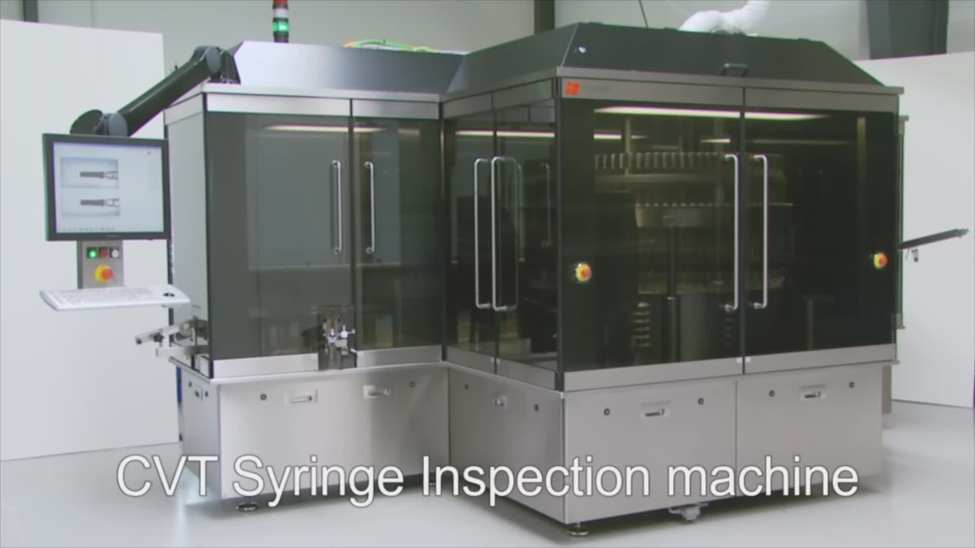 CTV syringe inspection machine